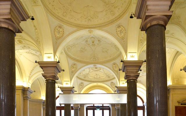 Die Aula der Universität Wien