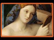 Bellini - Junge Frau bei der Toilette