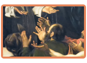 Caravaggio – Rosenkranzmadonna
