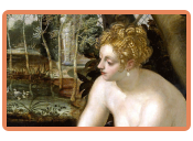 Tintoretto – Susanna im Bade