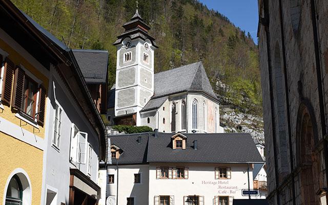 Katholische Kirche außen
