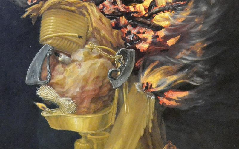 Giuseppe Arcimboldos Feuer