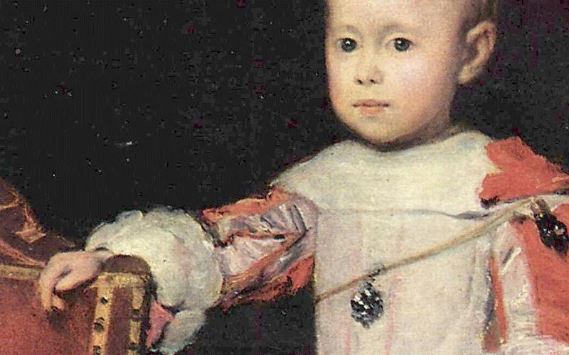 Der Infant Felipe Próspero