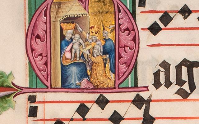 Die Stiftsbibliothek im Mittelalter
